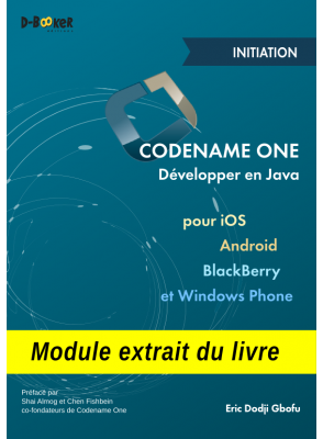 Initiation à Codename One